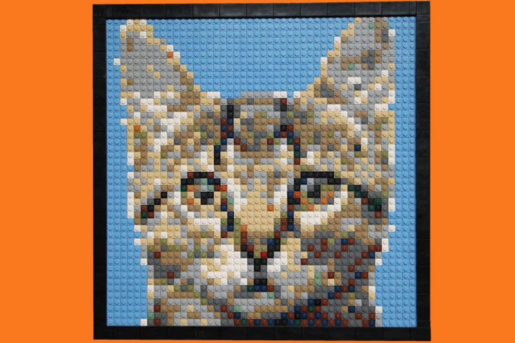 Build It Yourself Framed LEGO      Brick Mosaic     Bright Bricks     Build It Yourself Framed LEGO      Brick Mosaic