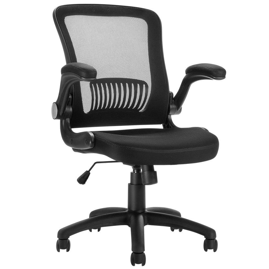 Mesh Office Chair Ergonomic Mid Back Design Swivel Computer Chair