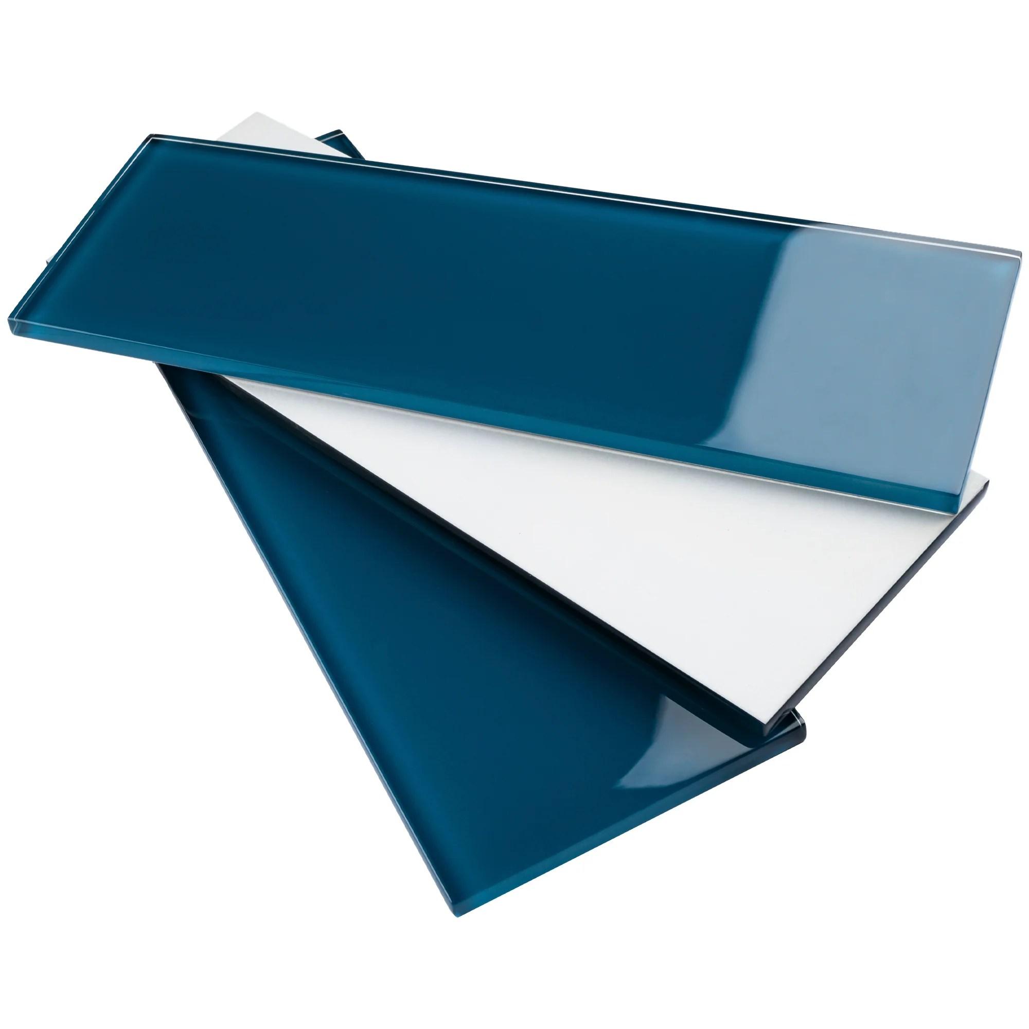 tcsbg 15 turquoise blue 4x12 glass