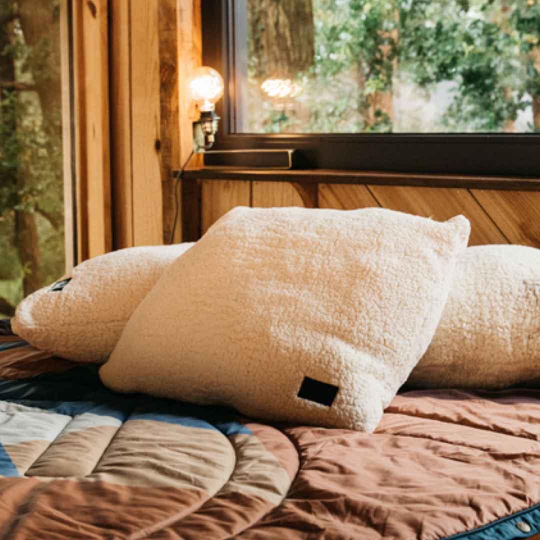voited picknickdecke campingecke mit schlafsack funktion cloud touch pillow blanket ways