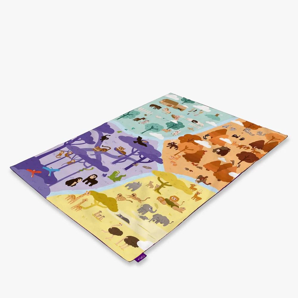 tapis d eveil a l anglais les animaux