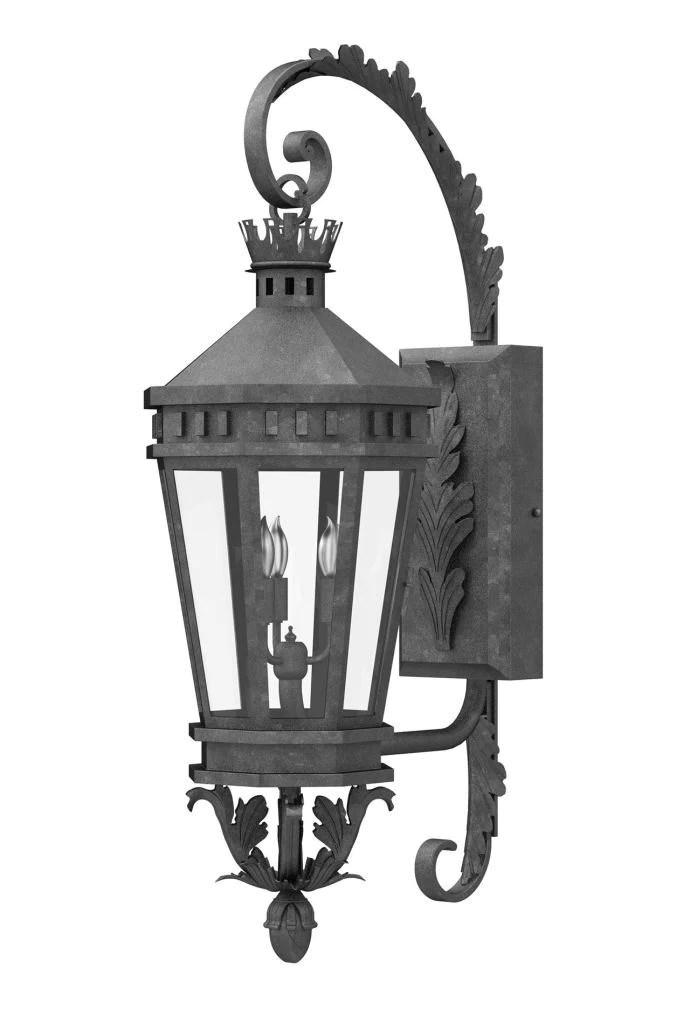 Solara Outdoor Lighting | Lucerna Iron Wall Sconce on Sconce Outdoor Lighting id=82200