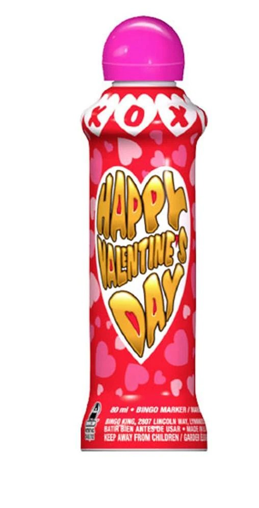 Happy Valentines Day XOXO Bingo Dauber Wholesale Bingo