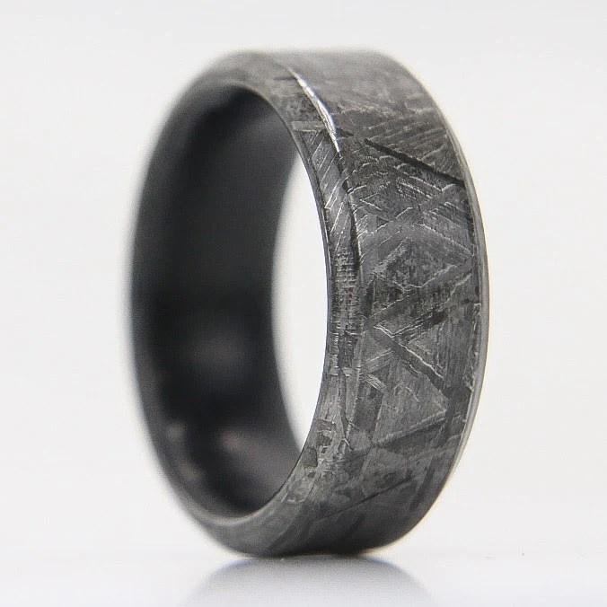 Meteorite Ring Unique And Handmade Rings Patrick Adair