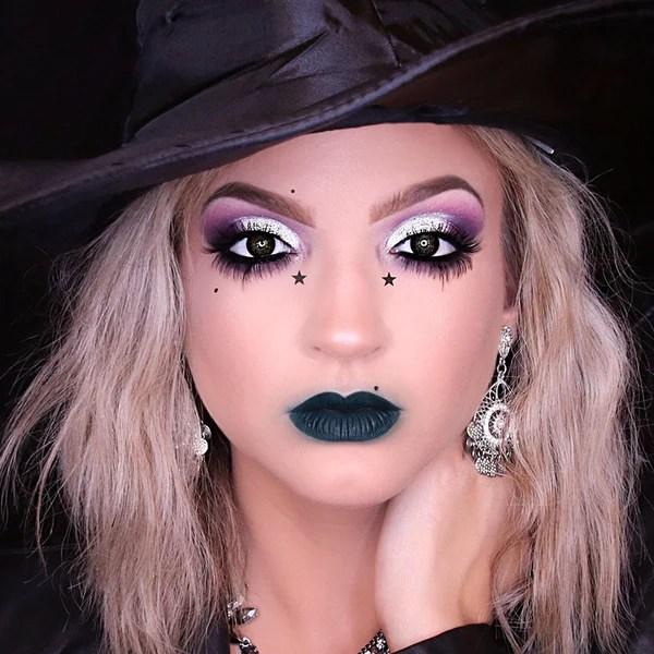 Glam Witch Makeup Tutorial Geek