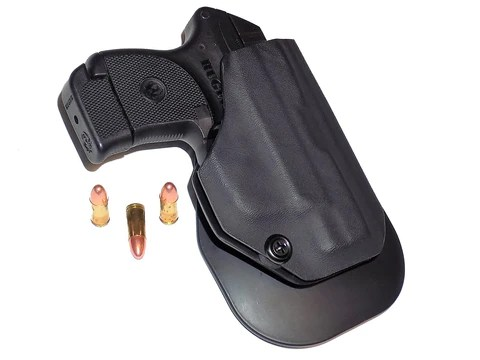 Aggressive Concealment LCPIIOWBLP OWB-LP low profile Kydex Paddle Holster Ruger LCP/LCPII