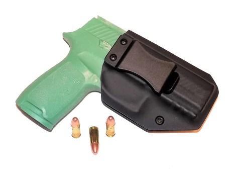 Aggressive Concealment P320CIWBLP IWB Kydex Holster Sig Sauer P320 Compact