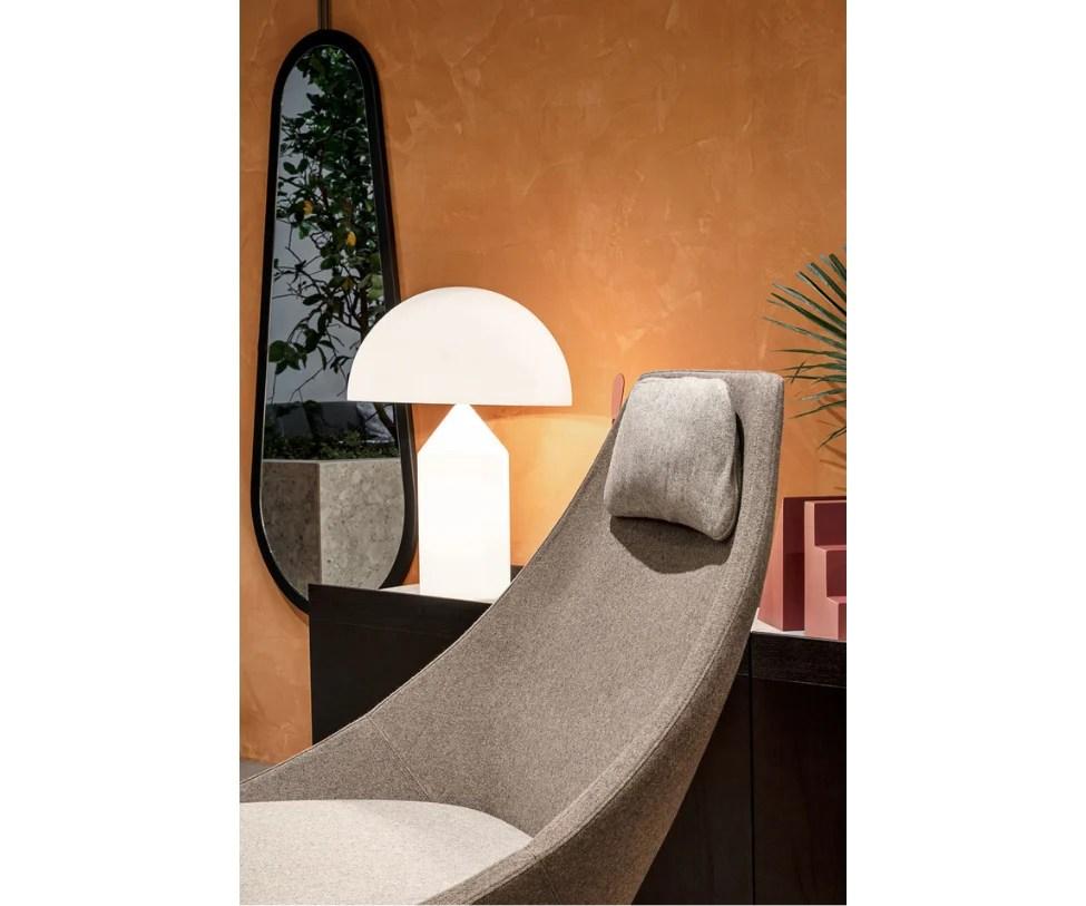 cut swivel lounge chair potocco