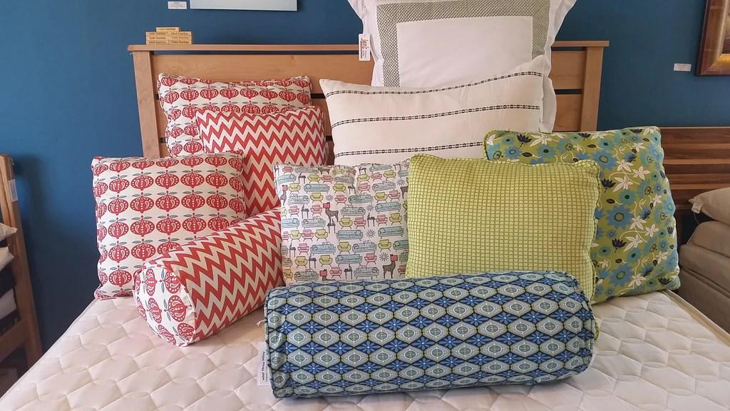 organic wool throw pillow inserts organic cotton bolsters jen s organic baby