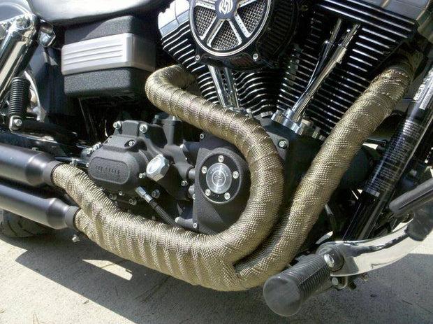 accel titanium exhaust wrap with lr technology