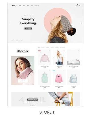 fashion store shopify theme