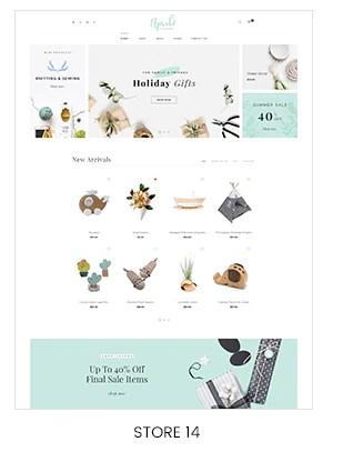 Shopify handmade gift store