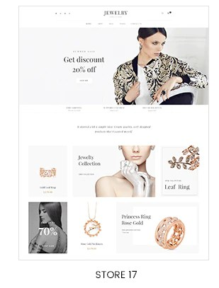 Shopify jewelry store