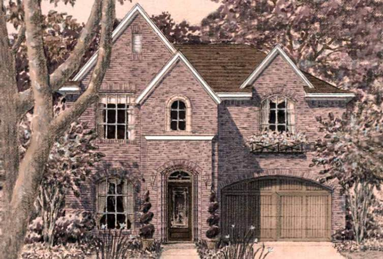 Unique Two Story House Plans  Floor Plans for Luxury Two Story Homes     Urban Home Plan D5108