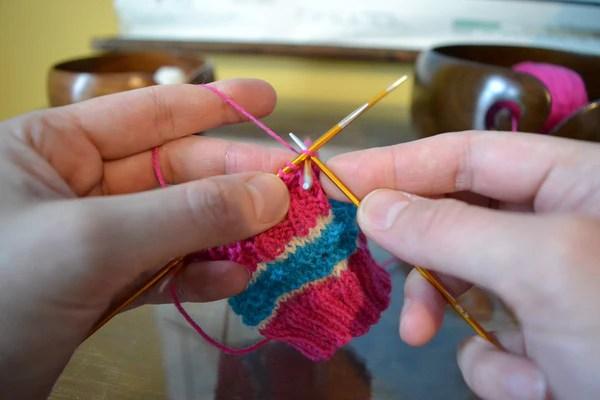sukkapuikkotesti KnitPro Zing