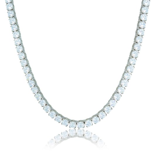 Diamond Tennis Chains WHITE GOLD - 18kDubai