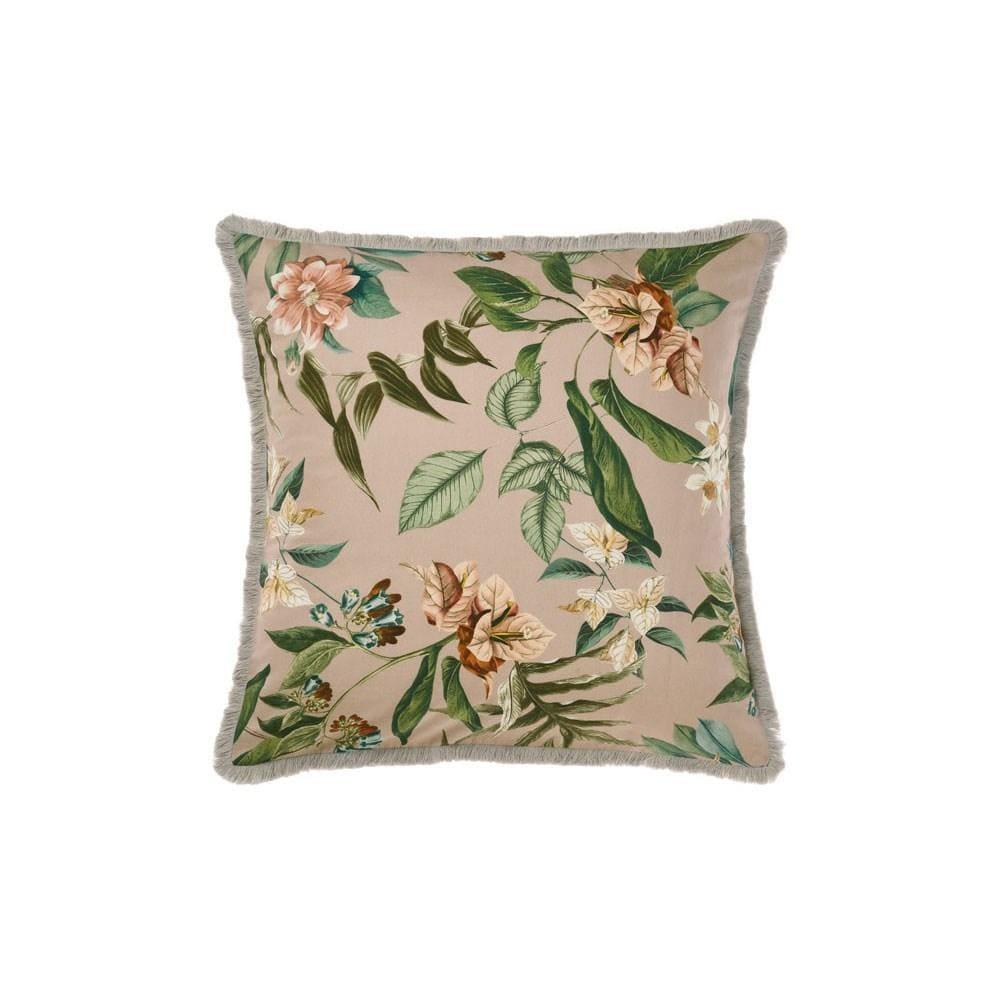 linen house anastacia chai european pillowcase 65 x 65cm