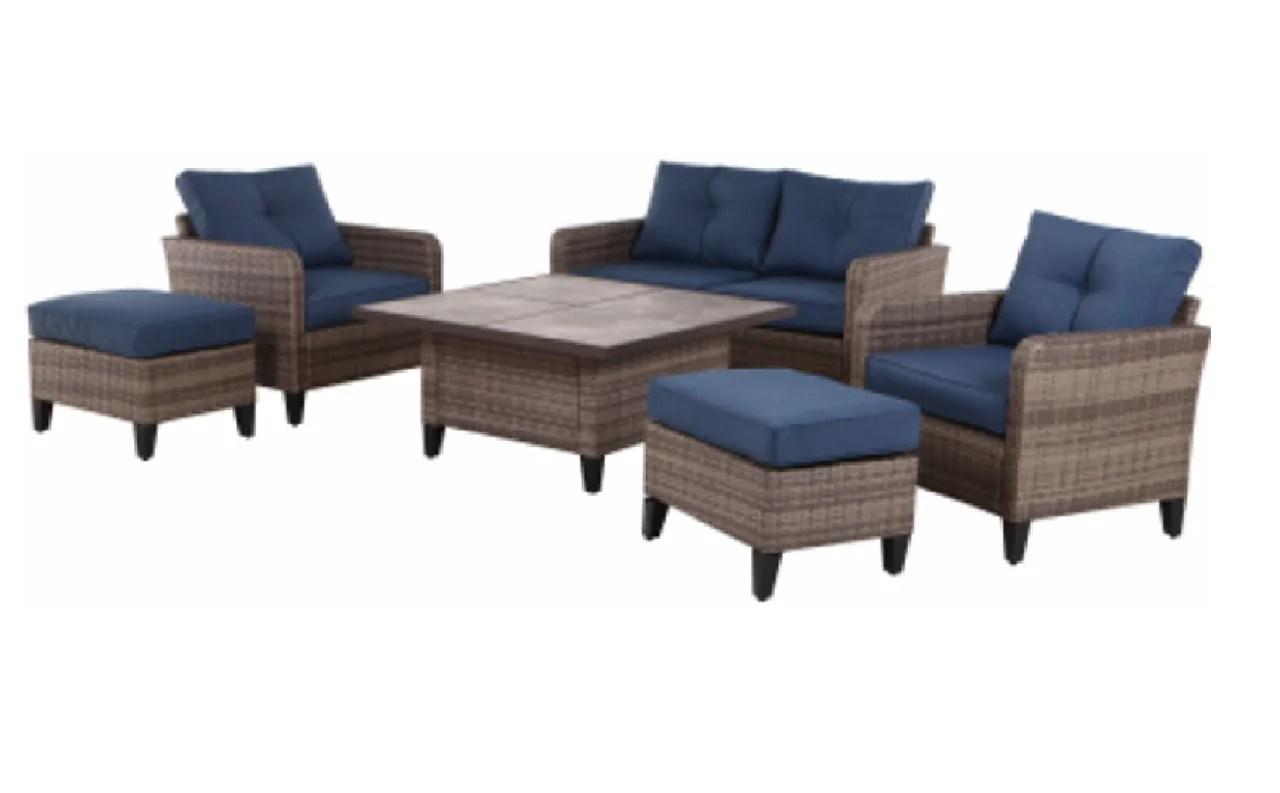 four seasons courtyard 545 0140 000 culebra patio set 6 piece