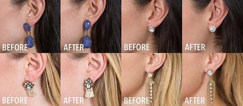 fermoir anti irritations boucles d'oreilles lourde FairyClasp