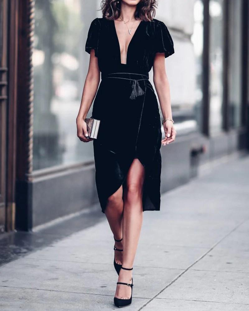 vestidos nochevieja 2017 2018 baratos low cost the easy lady trendy two blog zaragoza madrid carmen marta