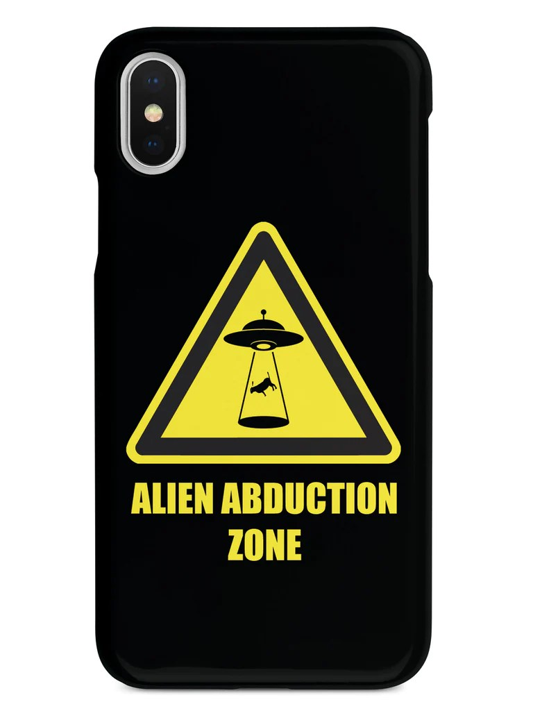 Alien Abduction - Black Case – InspiredCases