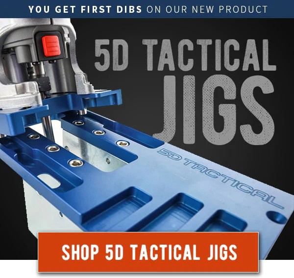 5D Tactical 80% Lower Jig - Search Results