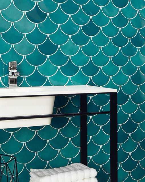 natucer squama olive ceramic wall tile ct0010