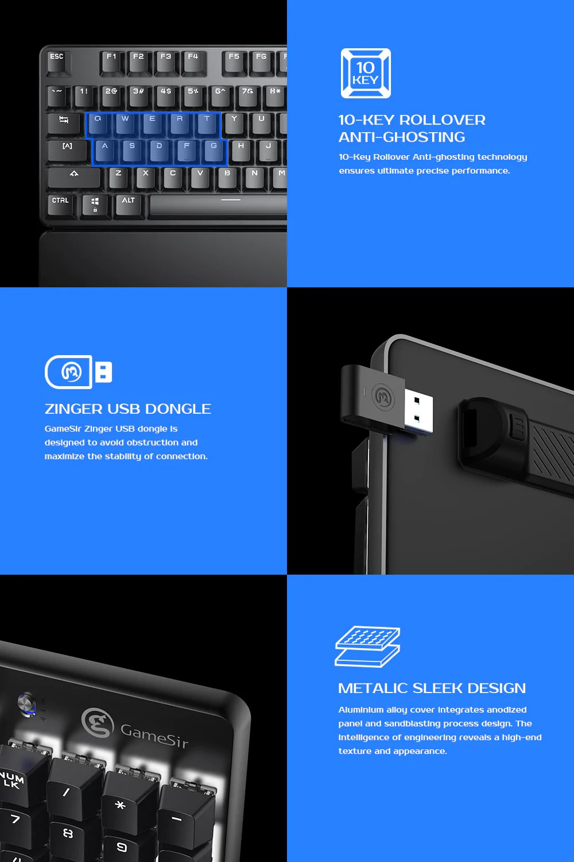 Bluetooth wireless mechanical keyboard
