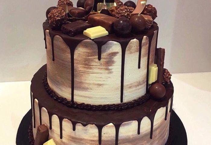 2 Tier Chocolate Galore Speciality Cake