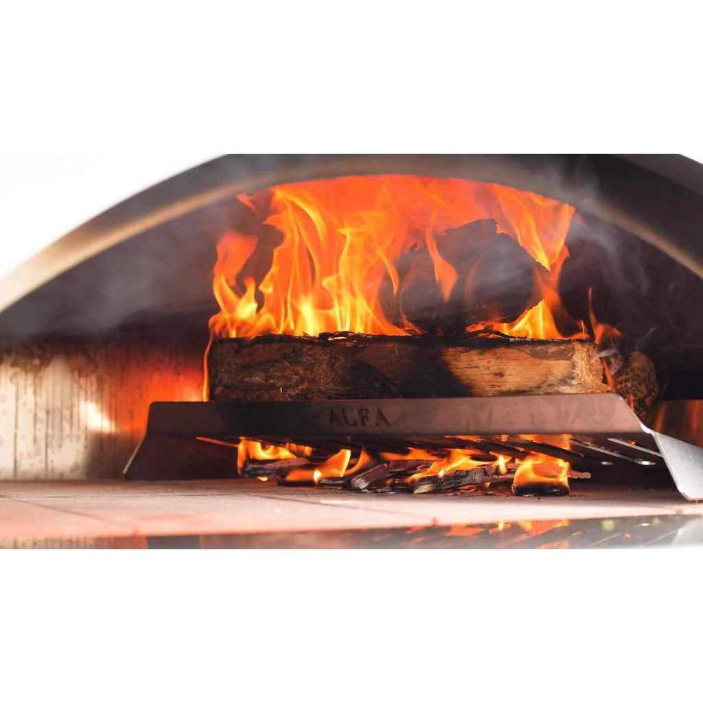 alfa 4 pizze countertop wood fired pizza oven