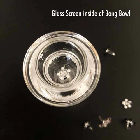 Glass Screen inside of a Bowl
