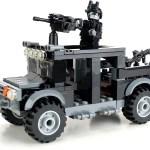 Special Forces Black Operations Gun Truck Custom Lego Military Set The Brick Show Shop