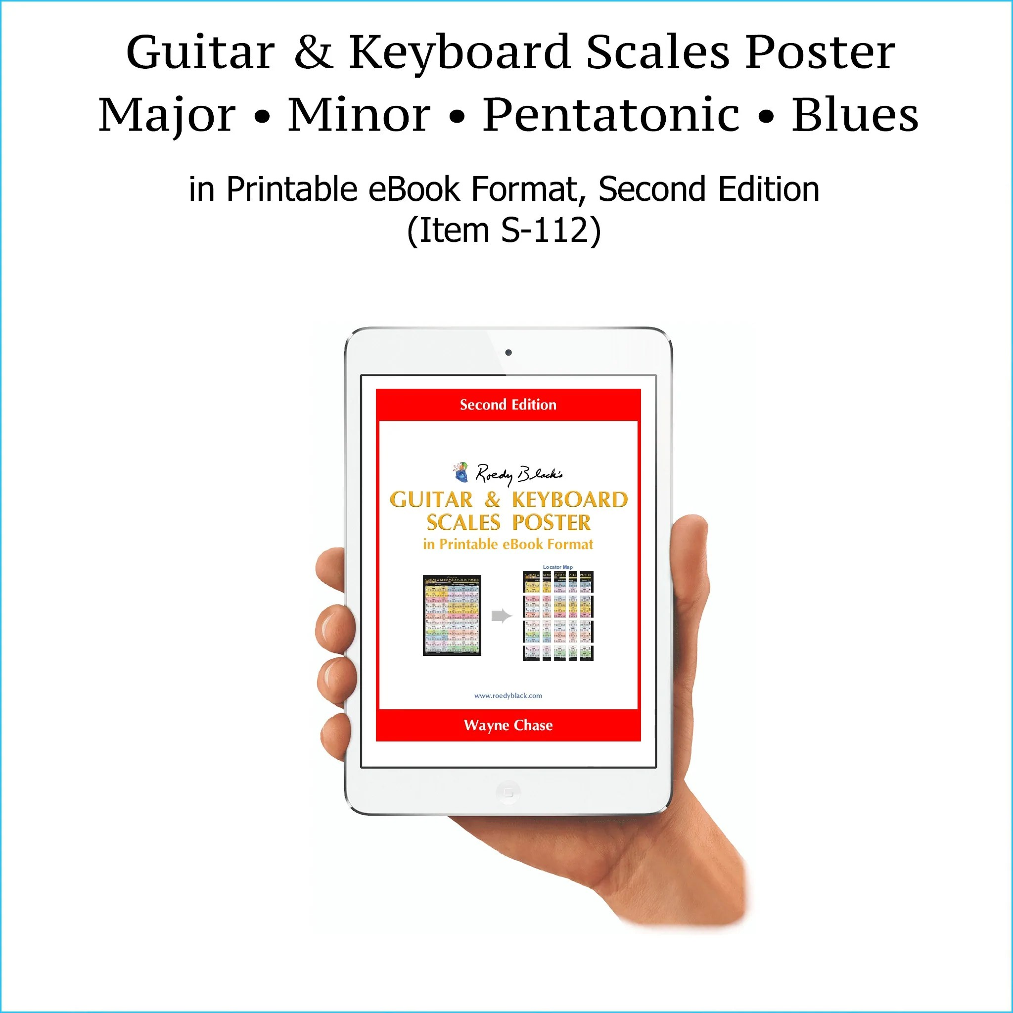 item s 112 guitar keyboard scales in printable ebook format 2nd edition high resolution free download protection