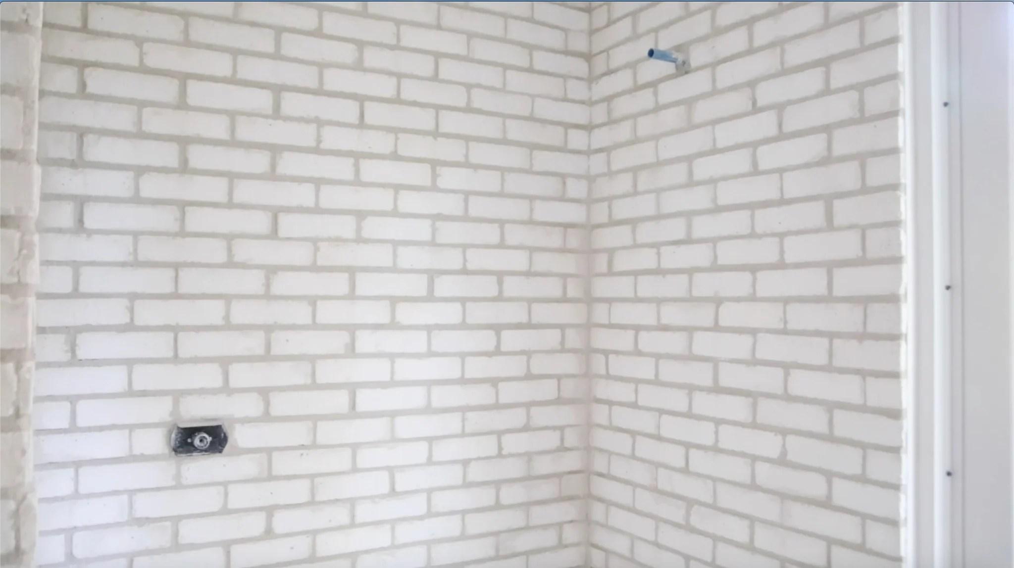 new style brick veneers pure white