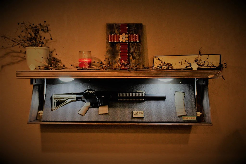Gun Safe Shelf Concealment Shelf Tactical Shelf