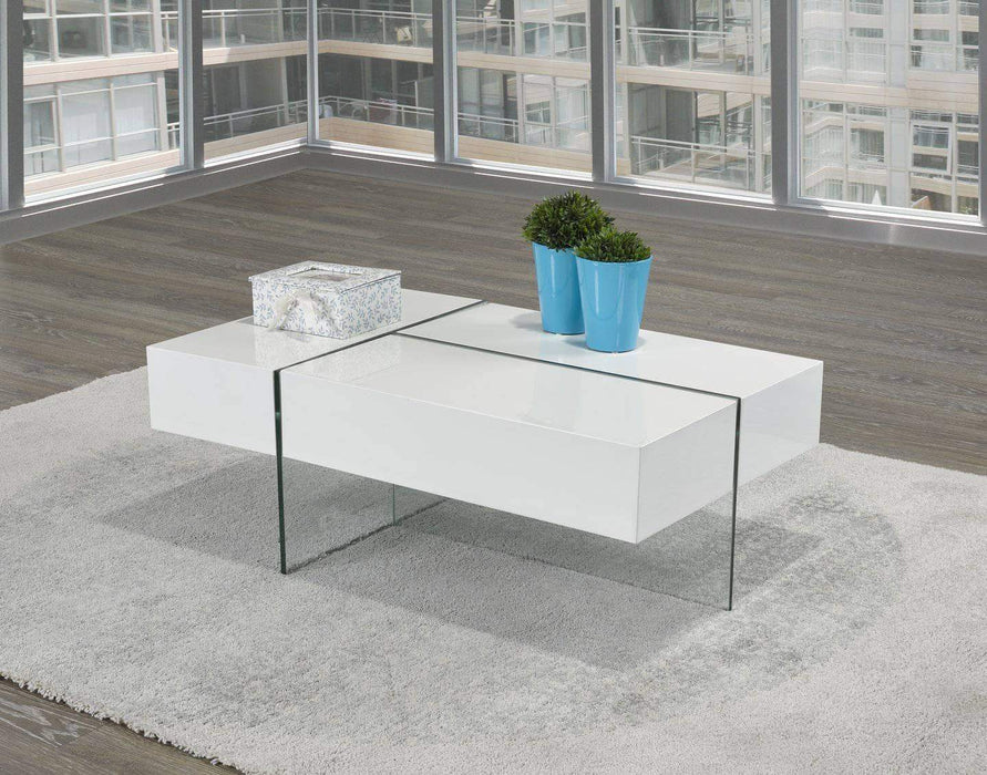 brassex 3 way storage coffee table 2 colours available