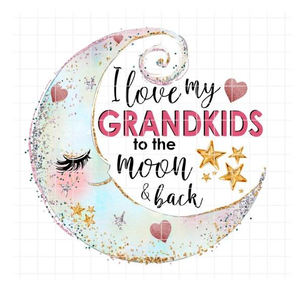 Download (Instant Print) Digital Download - I love my Grandkids to ...