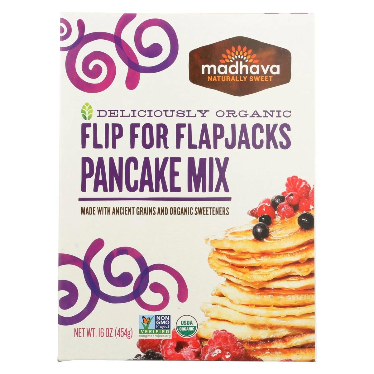 DealsBlastbiz I Madhava Honey Organic Pancake Mix With