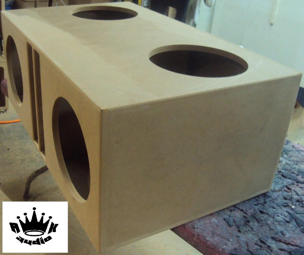 12 Inch Subwoofer Box Dimensions