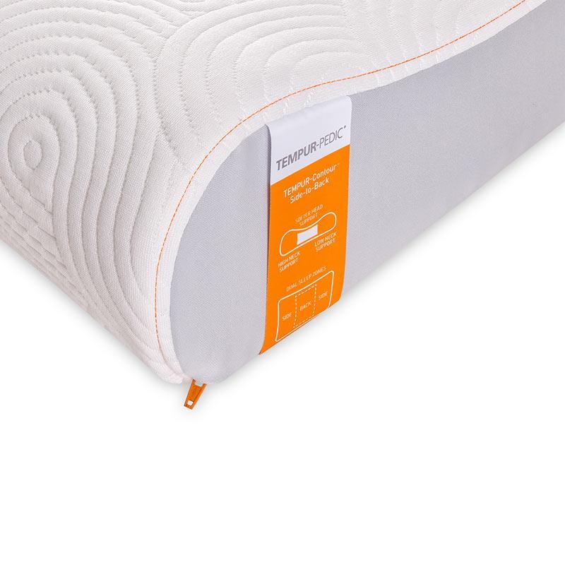 tempur pedic tempur contour side to back pillow