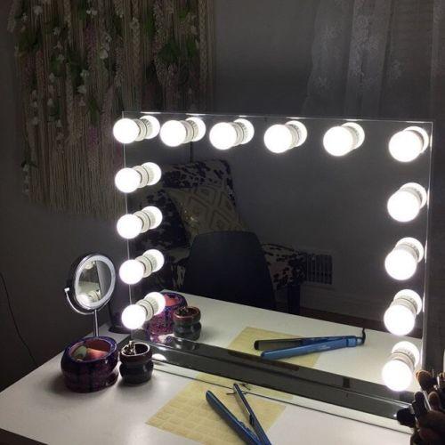 Showgirl 14 Light Venetian Glass Hollywood Mirror – Lick ...