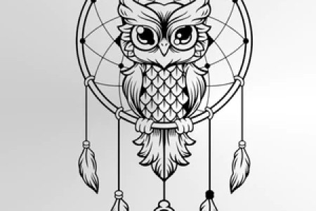 Meaning Of A Dream Catcher Tattoo Collection Drawing Small Quiet
