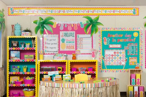 Tropical Punch Classroom Environment