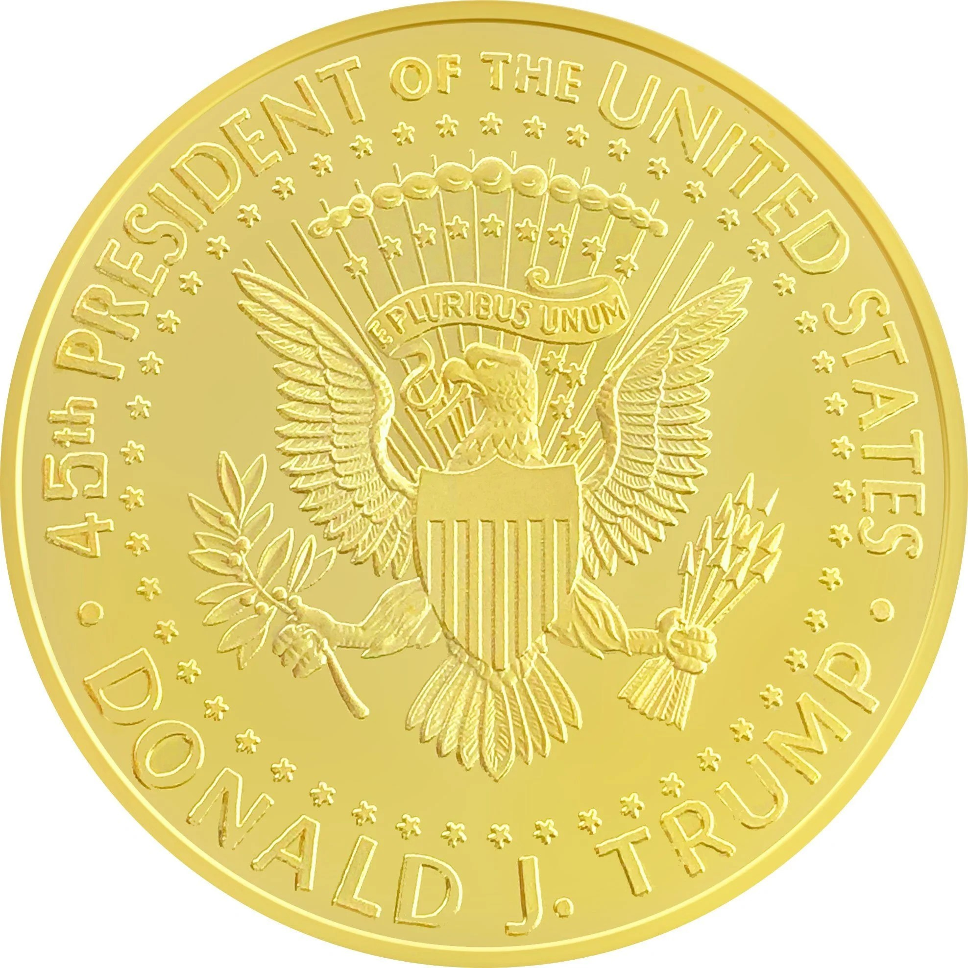 New 1 Dollar American Coin