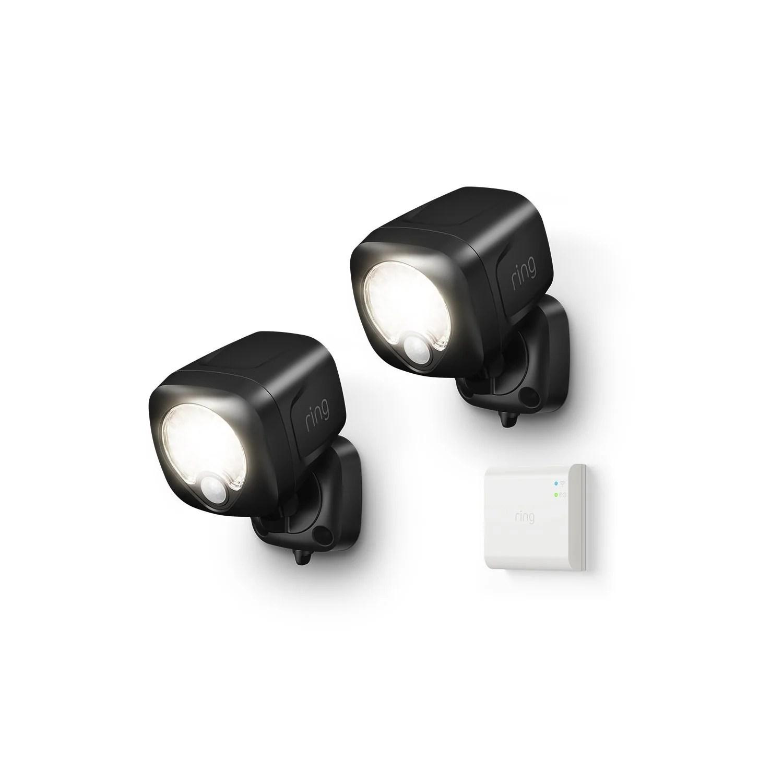 smart lighting spotlight 2 pack bridge
