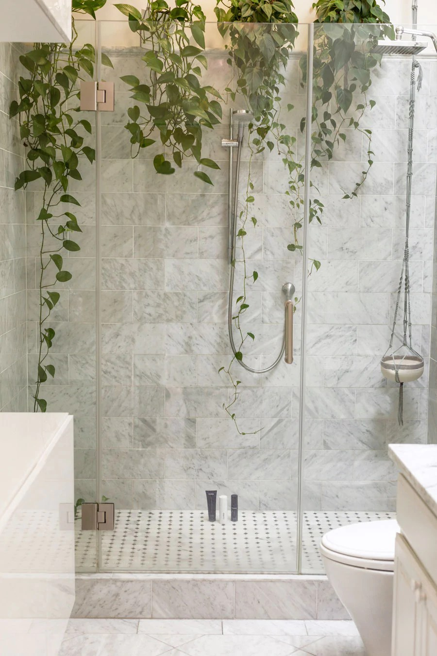how to keep marble shower tiles clean