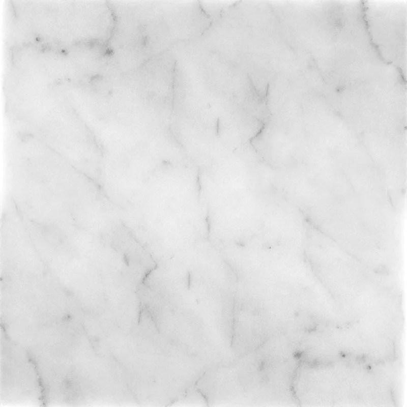 bianco carrara 12 x 12 honed marble tile