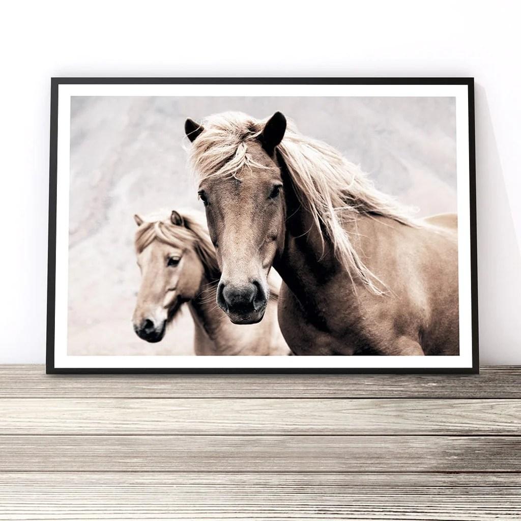 Wild Horses Photography Print Horse Art Print Little Ink Empire