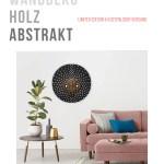 Wanddeko Holz Schwarz Mit Abstrakt Modern Kreative Gestaltung The Sweet Home Make