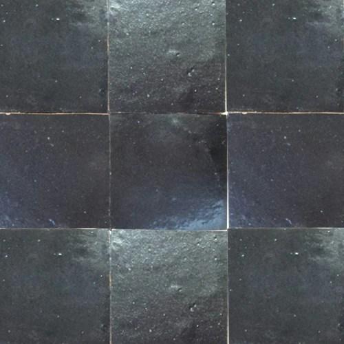 no 27 dark grey black glazed terracotta tile in stock